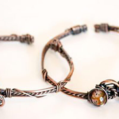 Copper Bracelet Class with Tanya McCormick